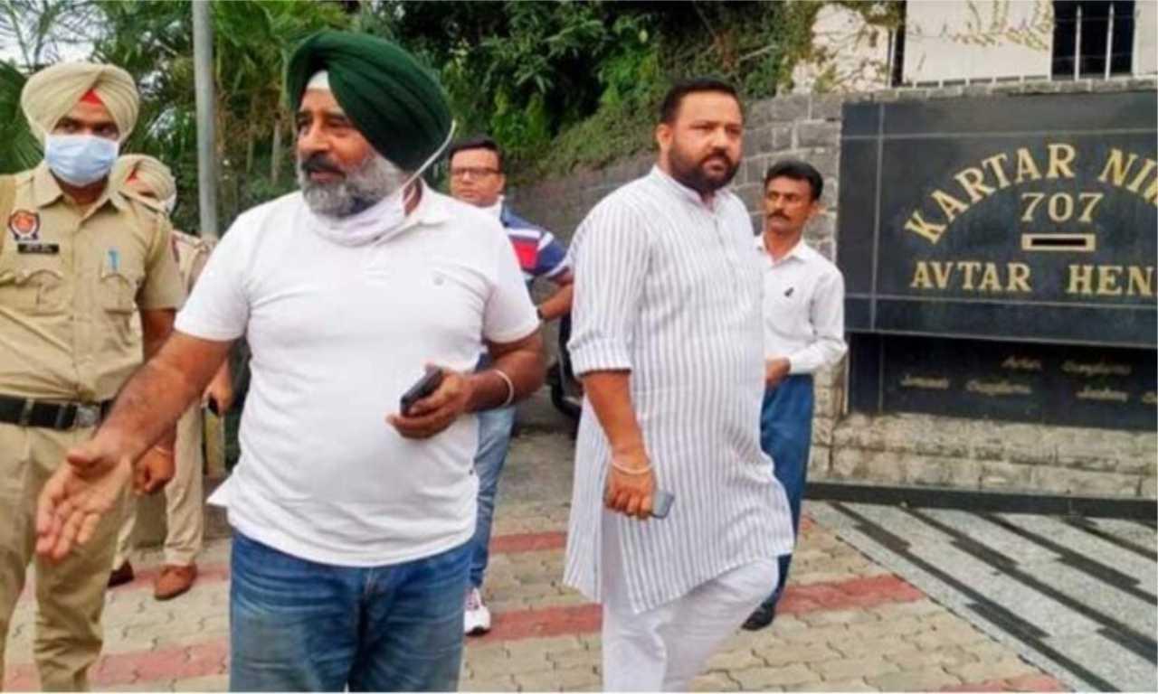 कांग्रेस नेता नवजोत सिंह सिद्धू पहुंचे जालंधर